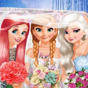 Frozen And Ariel Wedding
