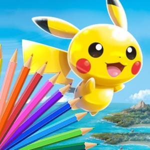 Pokémon Coloring Book
