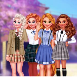 Princesses Kawaii Uniforms