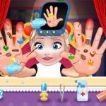 Baby Elsa Hand Doctor