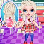 Baby Elsa School Haircuts