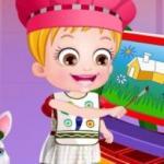 Baby Hazel Learns Colors
