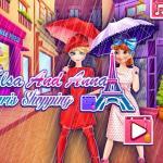 Elsa And Anna Paris Shopping