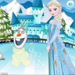 Elsa's Laundry Time