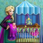 Pregnant Elsa Baby Room Deco