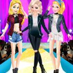 Princesses Punk Style Fashion Show