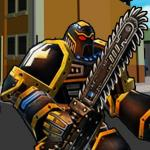Robot Hero City Simulator 3d